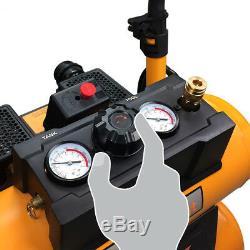 DuraTwist 4.5-Gallon 1.8 HP Quiet Air Compressor