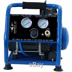 Eagle Silent Series. 75-HP 1-Gallon Hot Dog Air Compressor