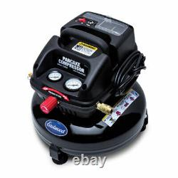 Eastwood 3 Gallons Oil Less Pancake Free Portable Air Compressor Certified New