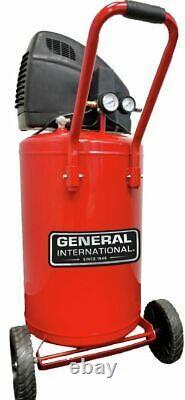 General International 20 Gallon 1.5HP Oil-Free Air Compressor, AC1220