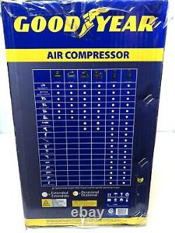 Good Year 3 Gallon Oil Free Air Compressor Includes 7 Piece Accesory Kit 135