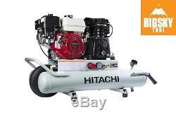 Hitachi EC2610E 8 Gallon Gas WhlBrw Compressor (Reconditioned Grade C)