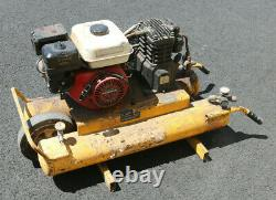Honda 5.5HP Gas Powered 8 Gallon Twin Cylinder Air Compressor AS IS PICKUP NJ