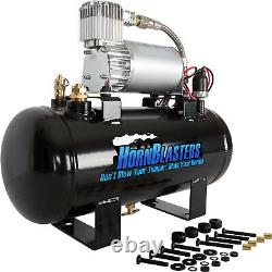 HornBlasters 127H Air Source Kit with 275C VIAIR Compressor and 1.5 Gallon Tank