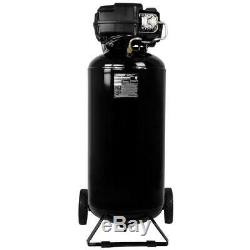 Husky 20 Gallon Tank Electric Quiet Portable Air Compressor for Home Garage Shop
