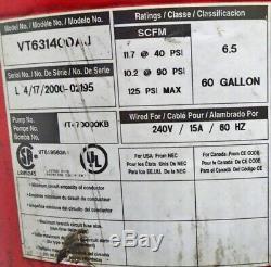 Husky 60 Gallon 6.5 HP Vertical Tank Air Compressor