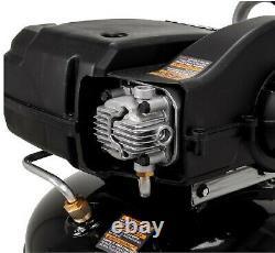 Husky C202H 20 Gallon 200 PSI Oil Free Portable Vertical Electric Air Compressor