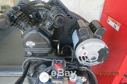 Husky C302h 30 Gallon 155 Psi 1.6hp Ultra Quiet Portable Electric Air Compressor