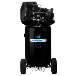 Industrial Air 1.9-HP 30-Gallon (Belt Drive) Dual-Voltage Cast-Iron Air Compr