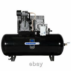 Industrial Air 7.5-HP 120-Gallon Two-Stage Air Compressor (230V 1-Phase) with S