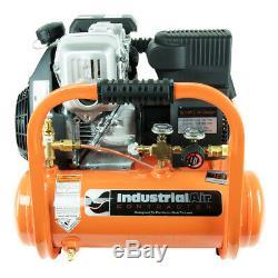 Industrial Air CTA5090412 4 Gallon 5 HP Gas Twin Tank Pontoon Air Compressor