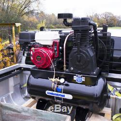 Industrial Air IH1393075 30 Gallon 13 HP Truck Mount Air Compressor withEngine