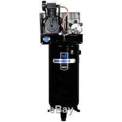 Industrial Air IV5076055 230-Volt 60 Gallon 5 HP Century Motor Air Compressor
