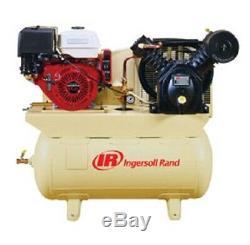 Ingersol Rand 13HP 30-Gallon Horizontal Air Compressor with Honda Engine