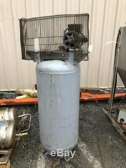 Ingersoll-Rand 2340L5 5HP 60 Gallon Reciprocating Air Compressor Tank/Motor