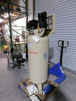 Ingersoll Rand 60 Gallon Stationary Electric Vertical Air Compressor 3 HP SS3L3