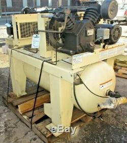 Ingersoll Rand Duplex 2-2475E5, 5hp Air Compressor, 120 Gallon Tank
