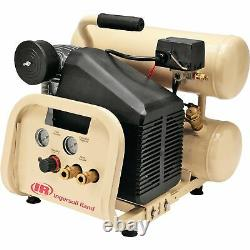 Ingersoll Rand Twin-Stack Air Compressor- 2 HP, 4-Gallon Capacity