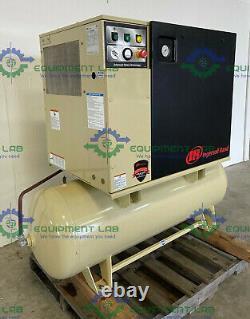 Ingersoll Rand UP6-7.5-125 Rotary Screw Air Compressor, 80 Gallon, 7.5 HP, 3PH