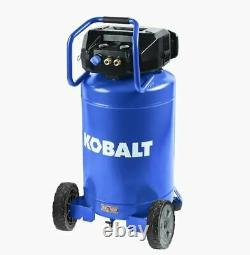 Kobalt 20-Gallon Single Stage Portable Corded Electric Vertical Air Compressor