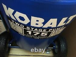 Kobalt 30-gallon Two Stage Portable Electric Vertical Air Compressor
