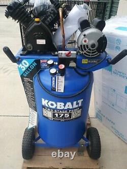Kobalt KOBALT 30-Gallon Two Stage Portable Vertical Air Compressor XC302000AJ