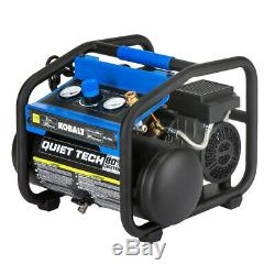 Kobalt QUIET TECH 2-Gallon Portable Electric Hot Dog Air Compressor