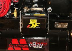 MEGA AIR COMPRESSOR 13HP HONDA GX390 GAS DRIVE SERVICE TRUCK 30 Gallons