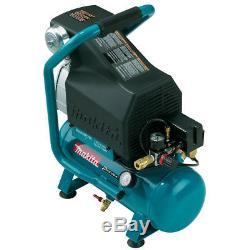 Makita MAC700 2.0 Hp 2.6 Gallon Cast Iron Roll-Cage Big Bore Air Compressor
