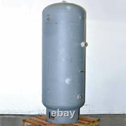 Manchester 200 Gallon Vertical Air Receiver Tank Compressor Storage 137 PSI Gal