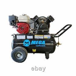 Mega Power MP-5520LB30 5.5 HP Honda Sinlge Tank 20 Gallon Wheeled 150 Max PSI