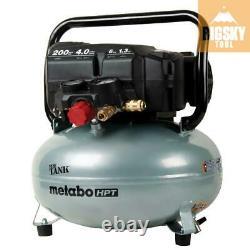 Metabo-HPT EC914SM THE TANK 6-Gallon High Capacity Pancake Air Compressor