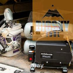 Metabo-HPT EC99SM 4-Gallon Portable Electric Twin Stack Air Compressor Renew