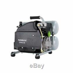 Metabo Hpt-EC99SM Portable 4 Gallon Twin Stack Air Compressor