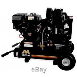 Mi-T-M 7.5-HP 8-Gallon Gas Two-Stage Wheelbarrow Air Compressor with Honda Engine