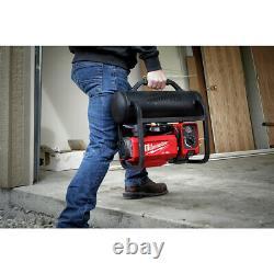 Milwaukee 2840-20 2 Gallon Portable Hand Carry Air Compressor New
