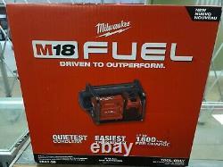 Milwaukee 2840-20 M18 FUEL 2 Gallon Compact Quiet Cordless Air Compressor New