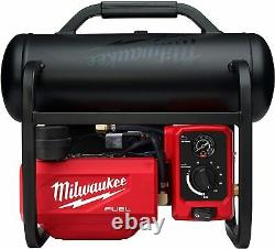 Milwaukee M18 Fuel 18-volt Brushless Cordless 2 Gallon Compact Quiet Compressor