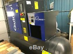 NEW 120 gallon 125 PSI 3 phase Quincy Compressor QGS-15 air dryer