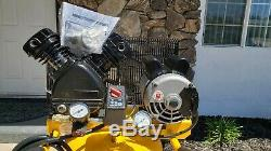 NEW DeWalt 20 Gallon, 155 PSI Single Stage Portable Electric Air Compressor