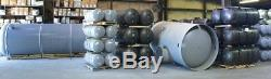 New 80 Gallon Vertical Air Tank W 4 Ft, 13 X 30 Top Plate 200 Psi- A10046#
