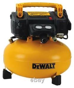 New Dewalt Dwfp55126 Pancake Style 6 Gallon 165 Psi Air Compressor 9874249