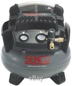 New Senco Pc1280 Pancake 6 Gallon 1.5 HP 150 Psi Air Compressor New Sale 2771624