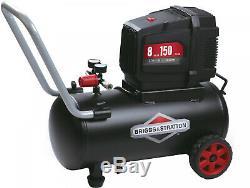 New Universal Motor Psi Briggs Stratton 8 Gallon Hotdog Oil Free Air Compressor