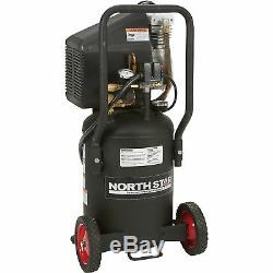 NorthStar Direct Drive Portable Air Compressor- 8-Gallon 1.5 HP 3.0 CFM