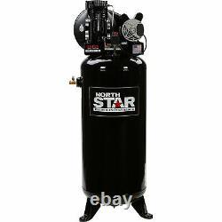 NorthStar Electric Air Compressor 3.7 HP, 60-Gallon Vertical Tank