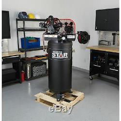 NorthStar Electric Air Compressor- 5 HP, 60-Gallon Vertical Tank
