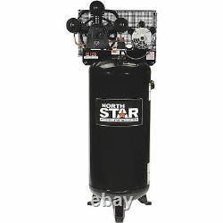 NorthStar High-Flow Electric Air Compressor 4.7 HP, 60-Gallon Vertical Tank