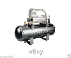 Omega AC-2.0 12V 2 Gallon AC200psi Air Compressor up to 200psi 12 volts