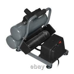 PWW 18 Gauge Brad Nailer 2 Gallon 100 PSI Twin Tank Stack Air Compressor